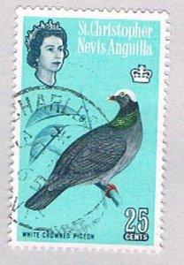 St Kitts Nevis & Anguilla 155 Used Pigeon 1963 (BP53405)