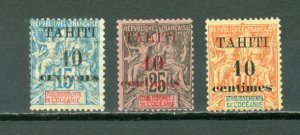 TAHITI #29-31...SET...MINT...$35.00