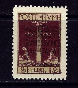 Fiume 205 MNH 1924 overprint