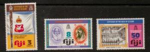FIJI SG502/4 1974 4th ANNIV OF INDEPENDENCE MNH