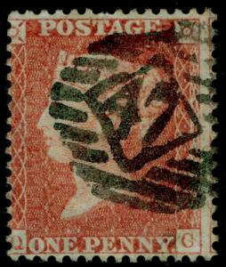 SG29, 1d red-brown, LC14, USED. Cat £22. QC