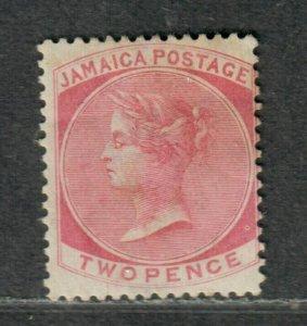 Jamaica Sc#8 M/F-VF, Wmk #1, Cv. $110