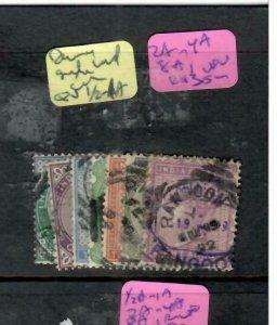 BURMA (P0707B) QV INDIA USED IN FORERUNNERS 1/2A-1A, 2A-4A,8A RANGOON CDS VFU