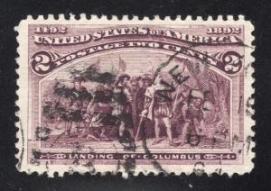 US#231 Brown Violet - Duple Cancel
