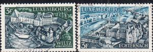 Luxembourg #483-484  Used