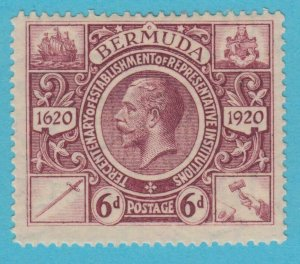 BERMUDA 78 MINT HINGED OG *  NO FAULTS VERY  FINE !