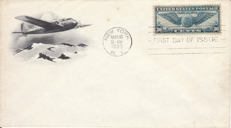 C24 Airmail FDC
