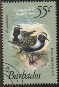 Barbados Scott 506A used CTO favor canceled 1981 stamp CV$4
