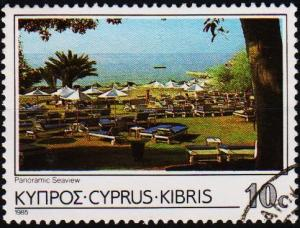 Cyprus. 1985 10c S.G.654 Fine Used