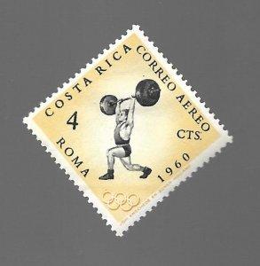 Costa Rica 1960 - Unused - Scott #C306