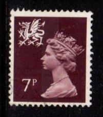 Wales - #WMMH8 Machin Queen Elizabeth II - Used