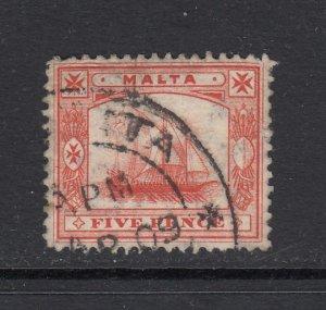Malta, Sc 44 (SG 59), used