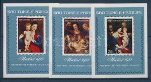 Sao Tomé e Príncipe stamp Rubens paintings block MNH 1977 Mi blokk 4-6 WS103521