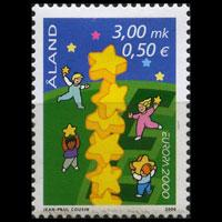 ALAND IS. 2000 - Scott# 166 Europa Set of 1 LH