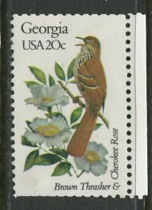 USA - Scott 1962 - State Birds & Flowers - 1982 - MNG - Single 20c Stamp