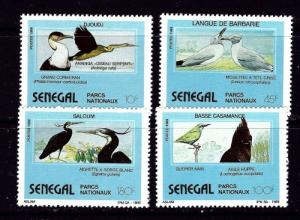 Senegal 849-52 NH 1989 Birds