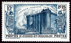 St. Pierre & Miquelon B8 Mint VF SCV$13...French Colonies are Hot!
