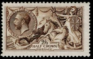 SG400, 2s 6d sepia-brown, NH MINT. Cat £600. WATERLOW.