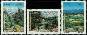 Algeria #1211-14  MNH - National Parks (2001)