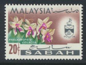 SABAH SG 430  SC# 23 MVLH* Flower  see scans /details