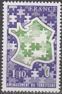 France #1596 MNH F-VF (SU5326)
