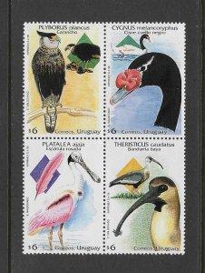 BIRDS - URUGUAY #1718   MNH
