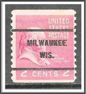 US Precancel #841-61 Milwaukee WI Coil Used