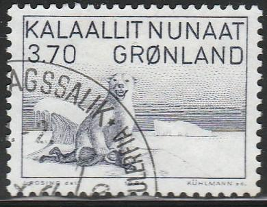 Greenland, #117 Used From 1980-87
