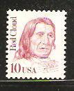 #2175d Red Cloud Single Mint NH prephosphered, shiny gum
