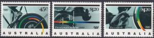 Australia #1268-70 MNH  CV $6.20  (A19783)