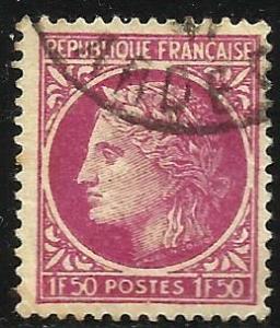 France 1945 Scott# 534 Used