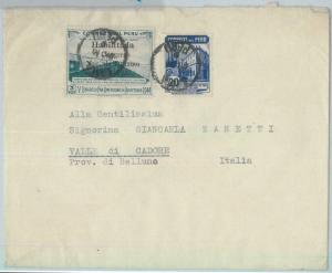 81691 - PERU - POSTAL HISTORY -  COVER to ITALY  1950 - TUBERCULOSIS