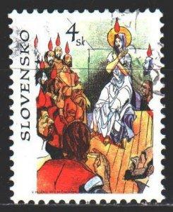 Slovakia. 1998. 310. Bible motives, religion. USED.