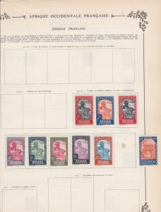 french colonies stamps ref 11112