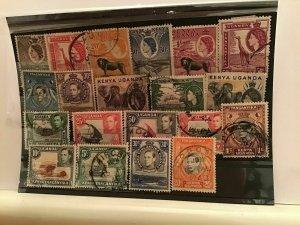 Kenya Uganda Tanganyika used  stamps R21584
