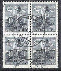 Austria - Scott 691 Block of Four Used