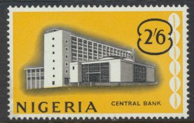 Nigeria  SG 98 SC# 110 MH 1961 Definitive Central Bank  please see scan