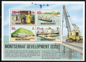 Montserrat 373a 1977 Development s.s. NH