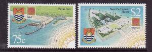 Kiribati-Sc#784-5-Unused NH set-Development Projects-2001-