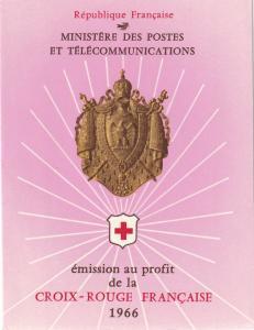 France #B402a Red Cross Booklet  CV $3.50 Z46