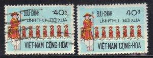 VIETNAM SC# 435 *USED*  40p 1972   SEE SCAN
