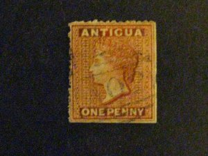 Antigua #2 used straight edge a203.9957