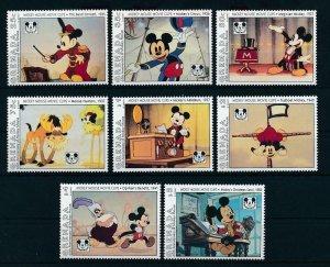 [22546] Grenada 1993 Disney 65th Birthday Mickey Mouse movie clips MNH