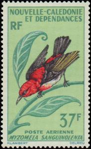 1966 New Caledonia  #C48-C49, Incomplete Set(2), Hinged