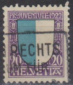 Switzerland #B23 F-VF Used CV $2.50 (B1011)