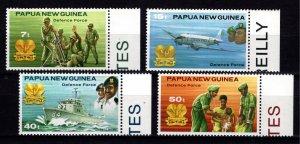 Papua New Guinea 1981 Defence Force, Marginal Set [Mint]