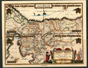Vatican City MNH mint 1112 map holyland palestine      (Inv 001763.)