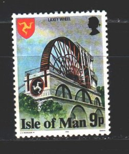 Isle Of Man. 1978. 110Bfrom the series. Water wheel. MNH.