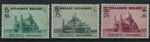 Belgium #B222-4* CV $8.00 Semi-postal overprints