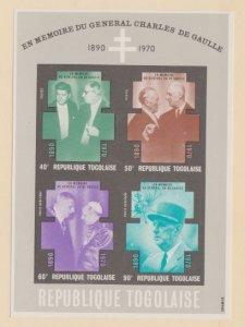 Togo Scott #C145a Stamps - Mint NH Souvenir Sheet